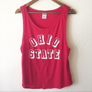 PINK by VS Ohio State OSU Tank Top Muscle July